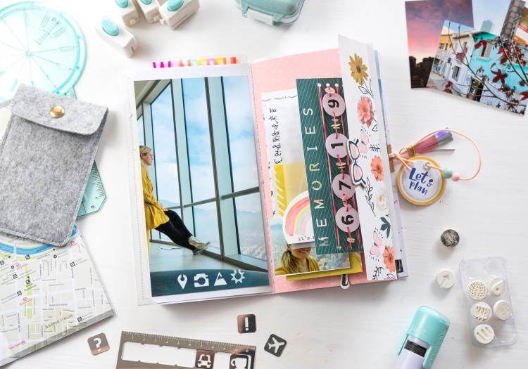 Traveler's Notebook by Steffi Ried for We R Memory Keepers