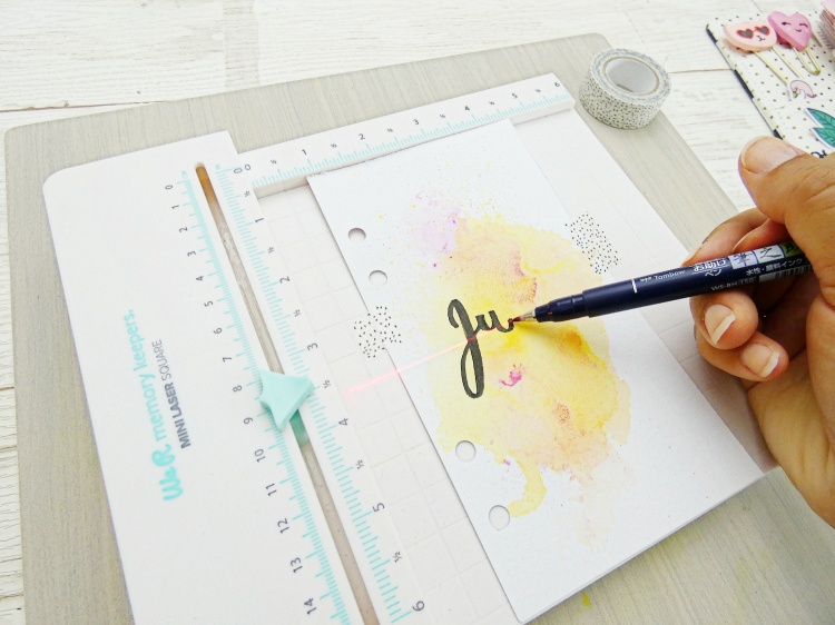 Planner Divider Mini Laser Square by Soraya Maes for We R Memory Keepers