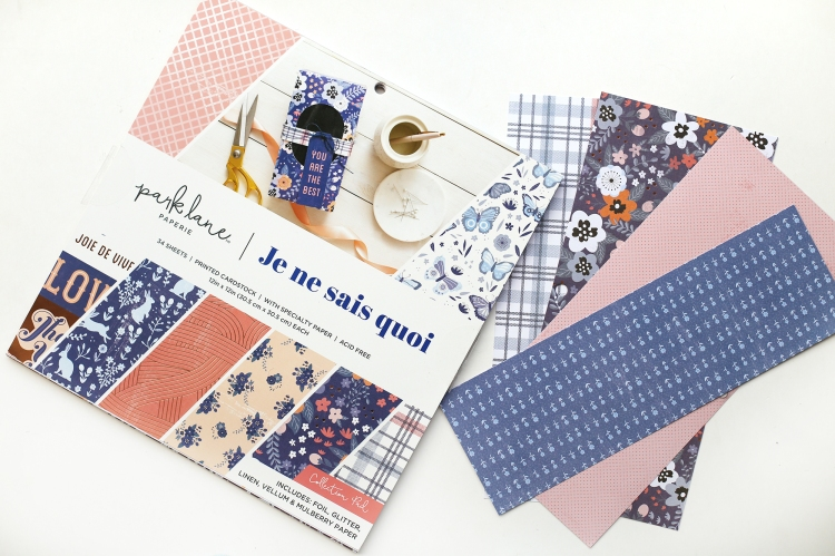 Park Lane Je Ne Sais Quoi 12x12 Paper Pad available at Joann Stores