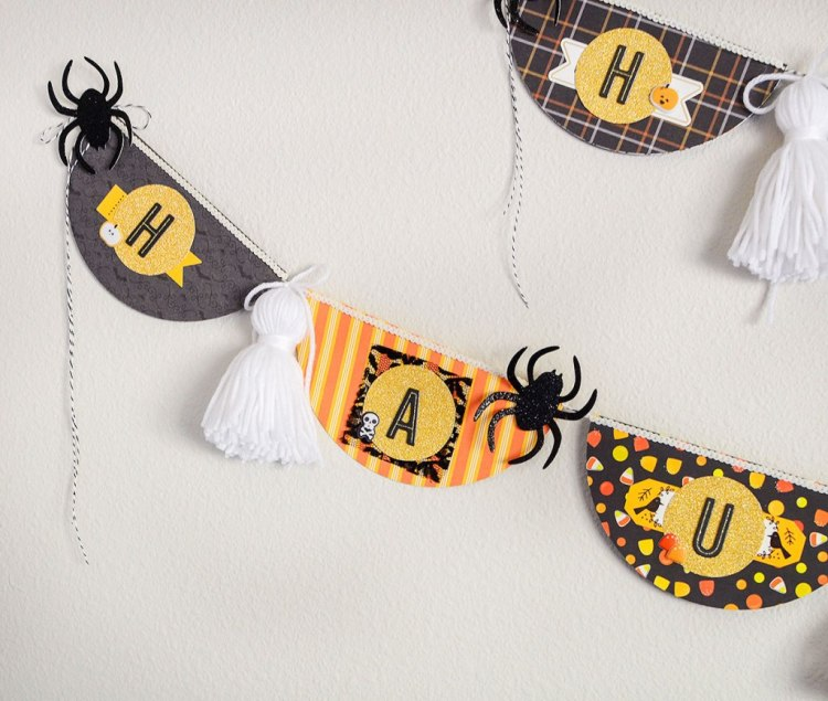 Halloween Banner by We R Memory Keepers