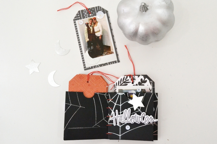 Halloween Mini Album with the Foil Quill by Aly Dosdall for We R Memory Keepers 13