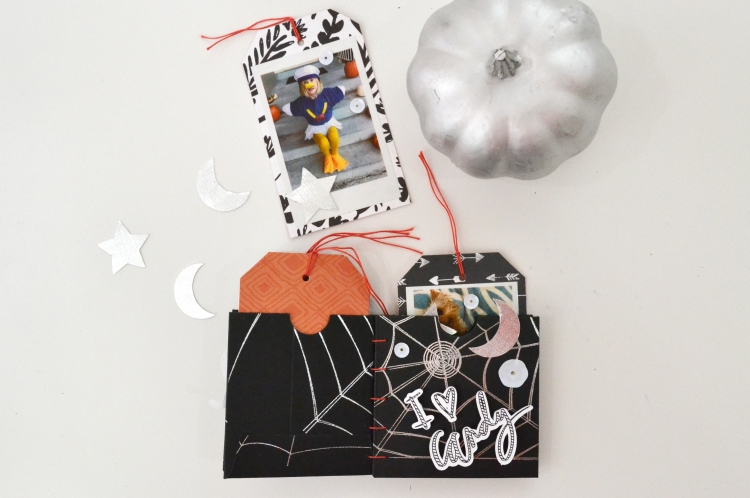 Halloween Mini Album with the Foil Quill by Aly Dosdall for We R Memory Keepers 15