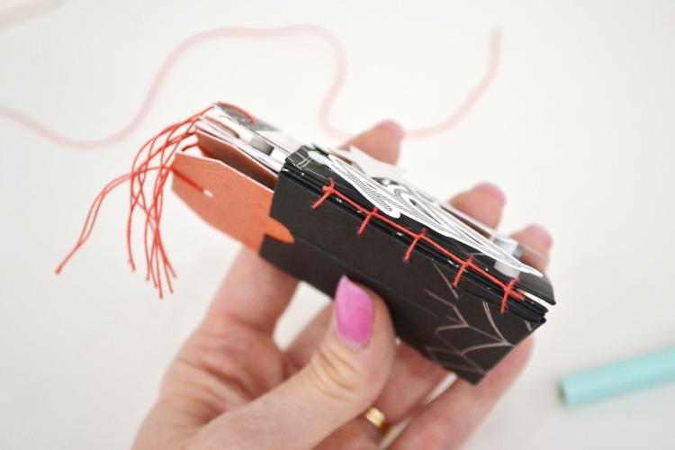 Halloween Mini Album with the Foil Quill by Aly Dosdall for We R Memory Keepers 6