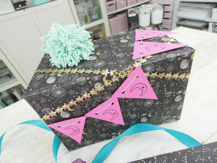 DIY Gift Wrap with The Works All In One Tool by We R Memory Keepers