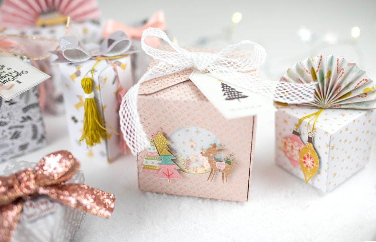 Holiday Shaker Gift Box by Steffi Ried for We R Memory Keepers
