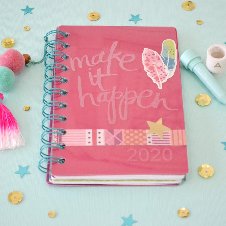 2020 Planner with the Etch Quill by Aly Dosdall for We R Memory Keepers