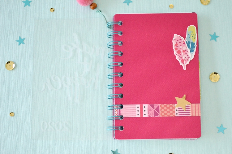 2020 Journal with the Etch Quill by Aly Dosdall for We R Memory Keepers 6