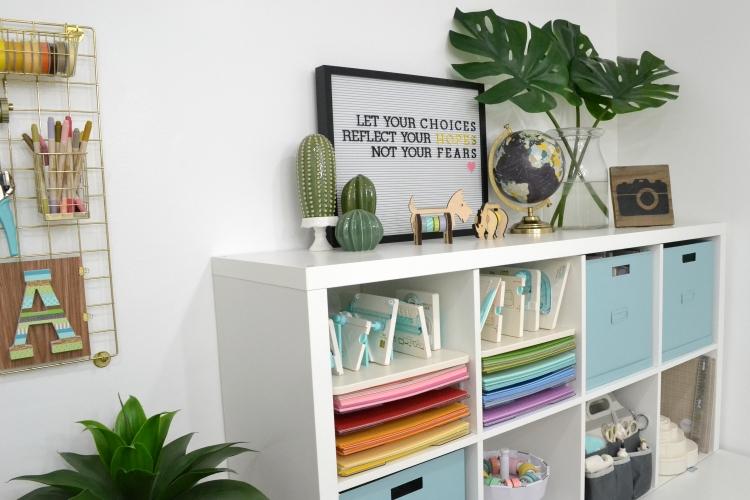 Aly Dosdall Craft Room Storage 1