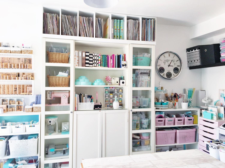 Craft Room Storage Tips by Soraya Maes-1