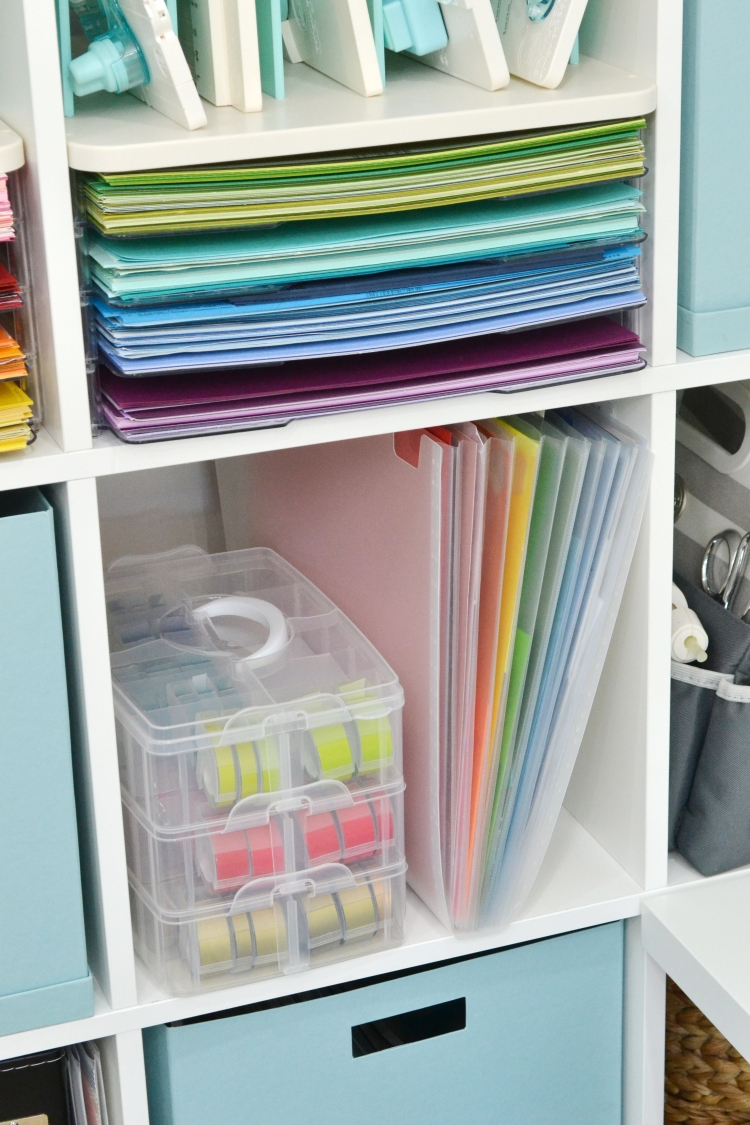 Paper Scrap Storage by Aly Dosdall for We R Memory Keepers