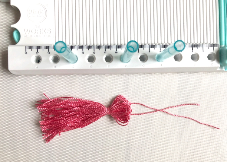 Make tassels with The Works All In One Tool by We R Memory Keepers