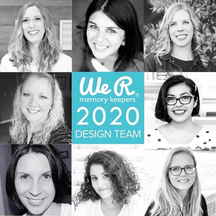 We R Memory Keepers 2020 Design Team_social image